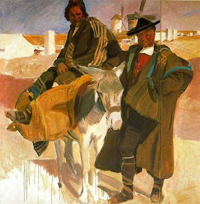 Tipos de la Mancha, Joaquín Sorolla Bastida, Joaquín Sorolla Bastida, Retratos de Joaquín Sorolla, Joaquín Sorolla, Pintor español, Retratista español, Pintores Valencianos