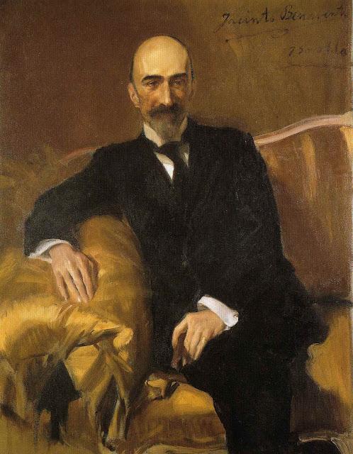 Jacinto Benavente, Joaquín Sorolla