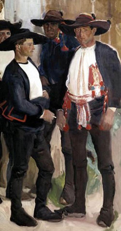 Tipos de Lagarterano, Joaquín Sorolla Bastida, Retratos de Joaquín Sorolla, Joaquín Sorolla y Bastida, Joaquín Sorolla, Pintor español, Retratista español, Pintores Valencianos