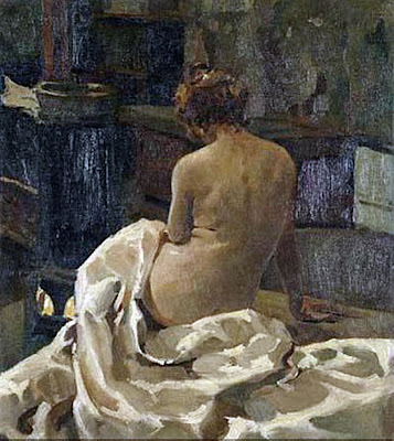 Desnudo, Retrato, Enrique Martínez Cubells, Pintor español, Pintores españoles, Martínez Cubells, Paisajes de Enrique Martínez Cubells, Pintores Valencianos