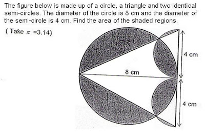 PSLE Maths: SCGS Circle Questions