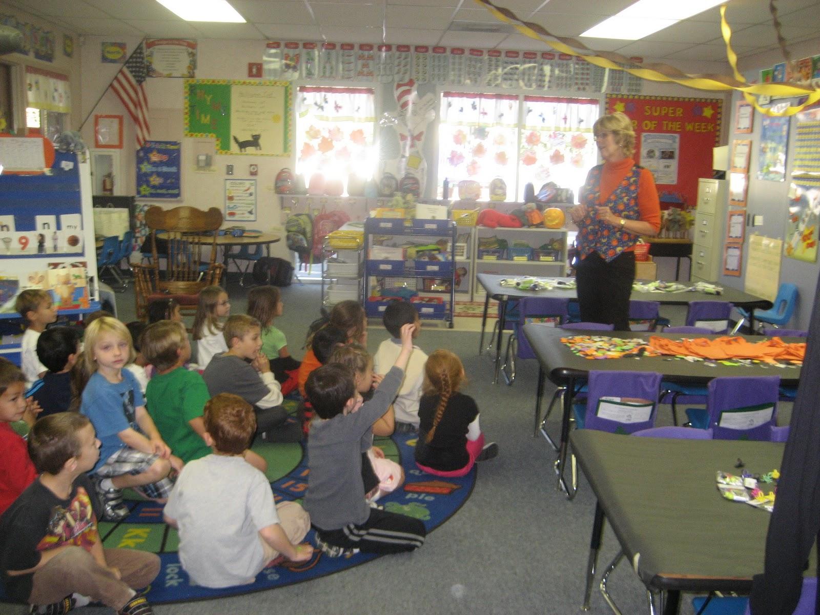Kindergarten Classroom: Mrs. Jones Kindergarten Class 2010-2011: Classroom