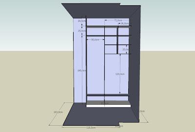 3eme realisation plan dressing gratuit choisir la disposition. Black Bedroom Furniture Sets. Home Design Ideas