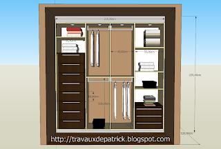 dressing dans une chambre. Black Bedroom Furniture Sets. Home Design Ideas