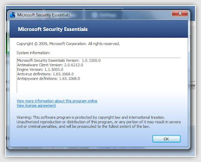 Microsoft Security Essentials 1.0.1500.0