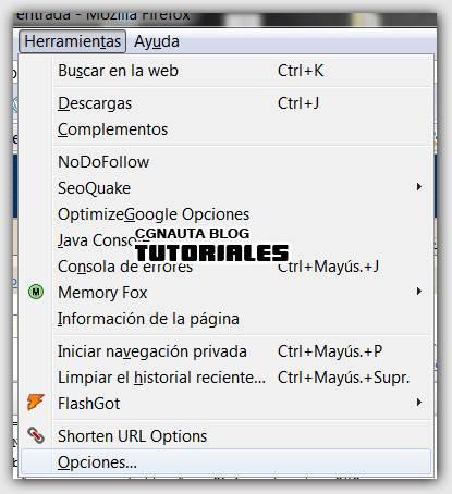 Cambiar de color de páginas web en Firefox (Fondo, texto y enlaces ...