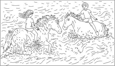 nicoles horse coloring pages - photo#6