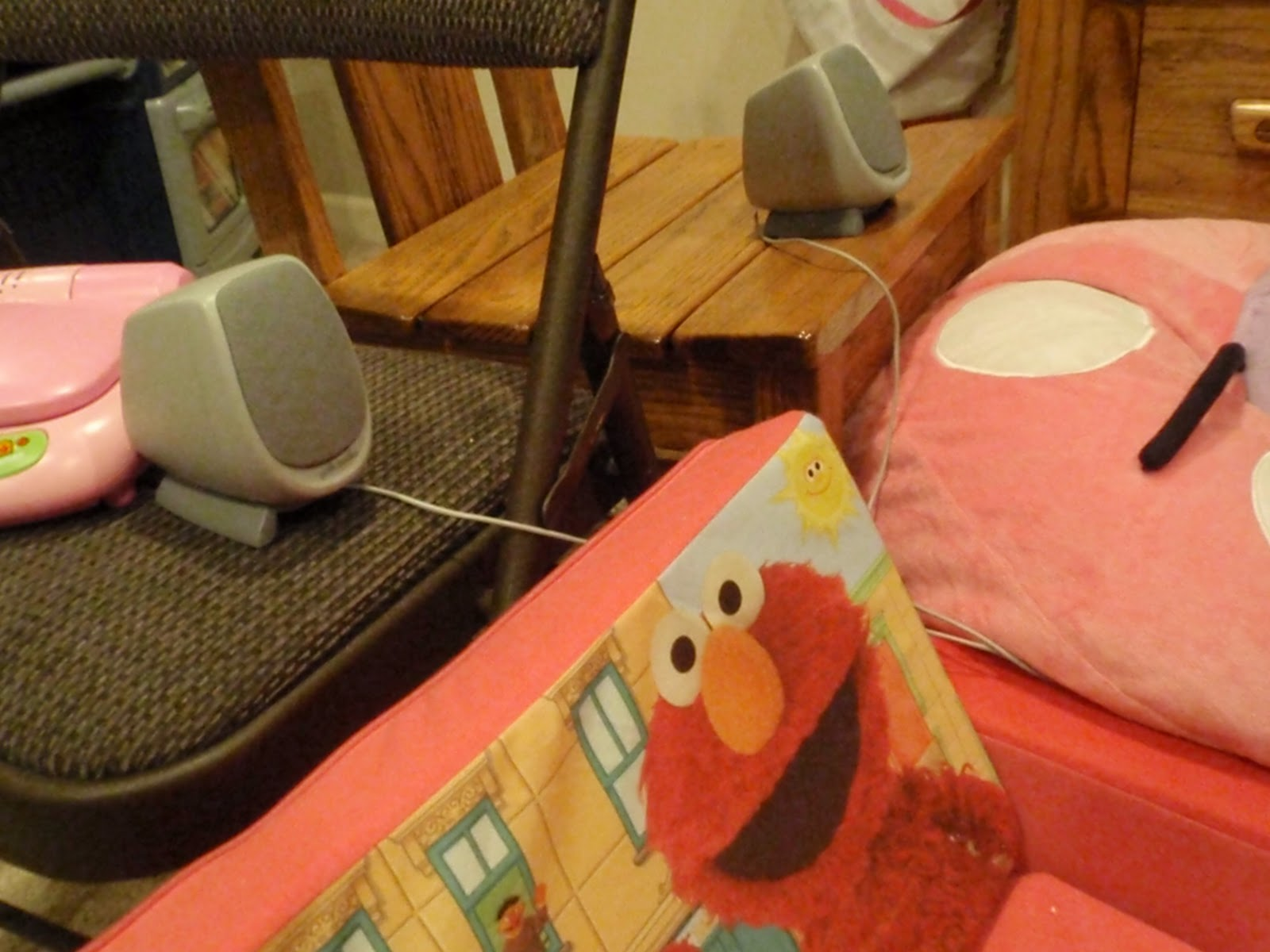 elmo bean bag chair conference table and chairs attempting mary poppins a night at the movies