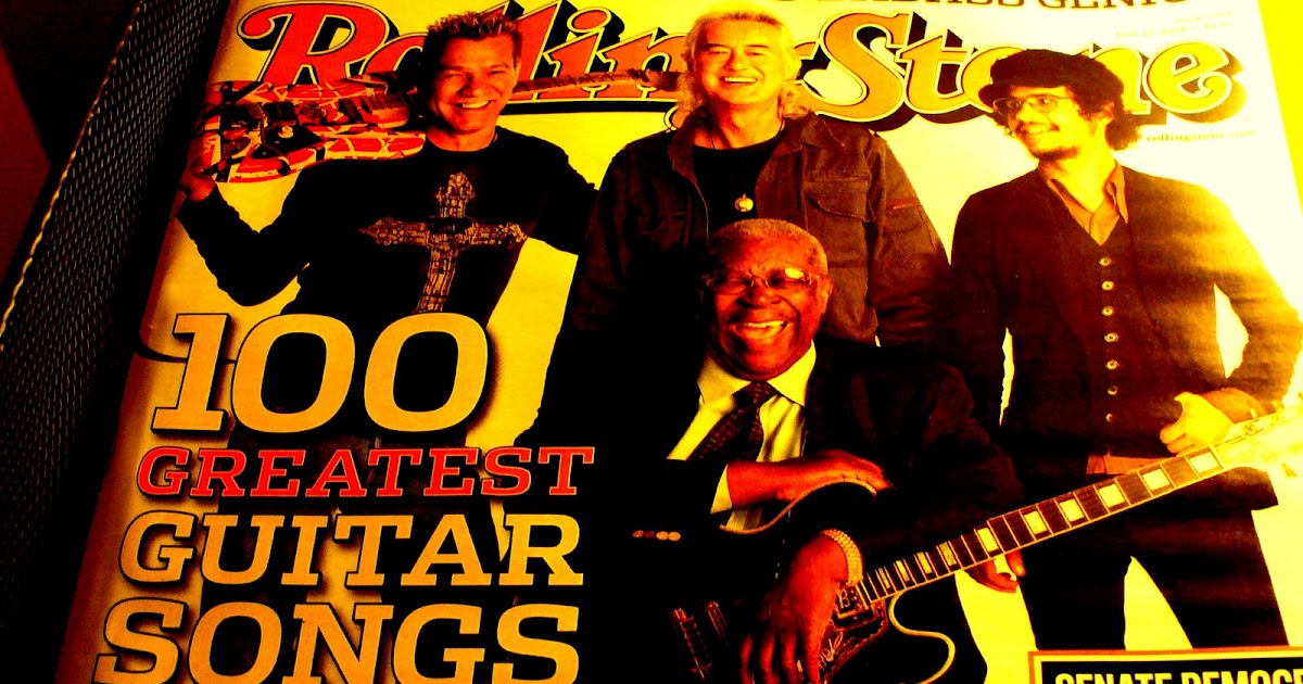 2008 Rolling Stone Top 100 Licks