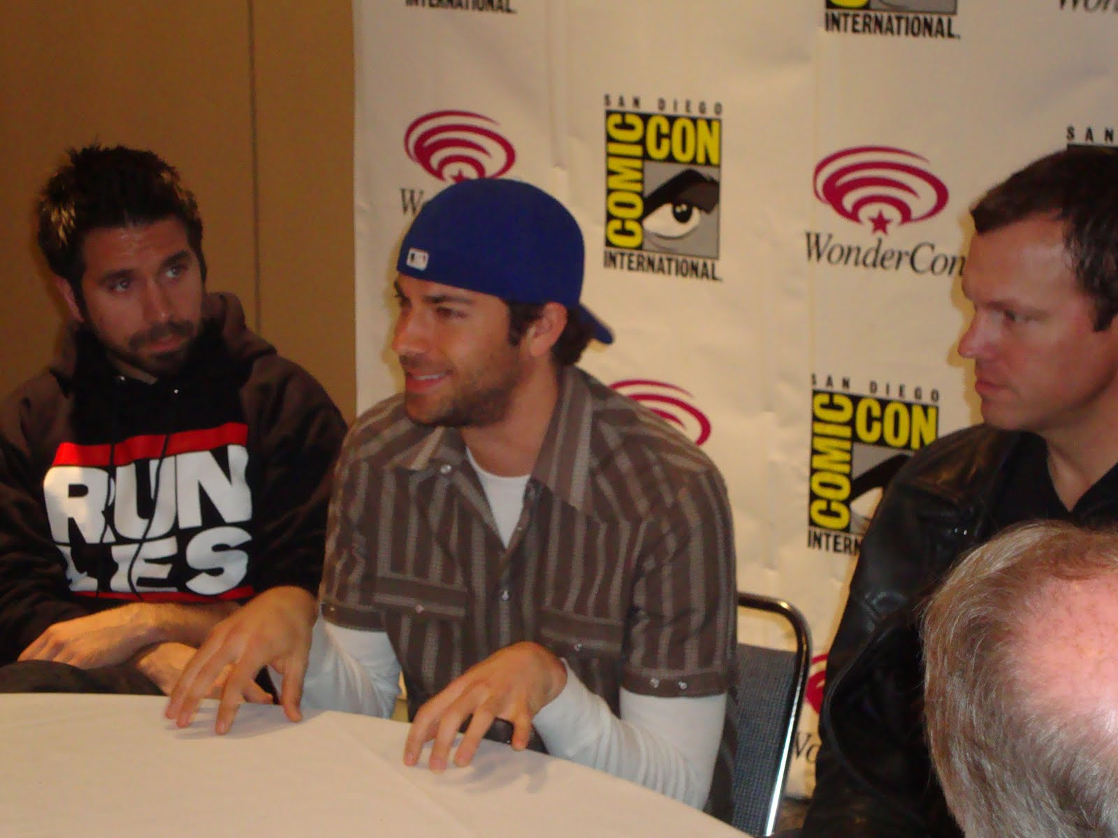 Chuck Cast Interviews Part Two Zachary Levi Joshua Gomez And Adam Baldwin Sandwichjohnfilms He is the younger brother of actor rick gomez. sandwichjohnfilms com