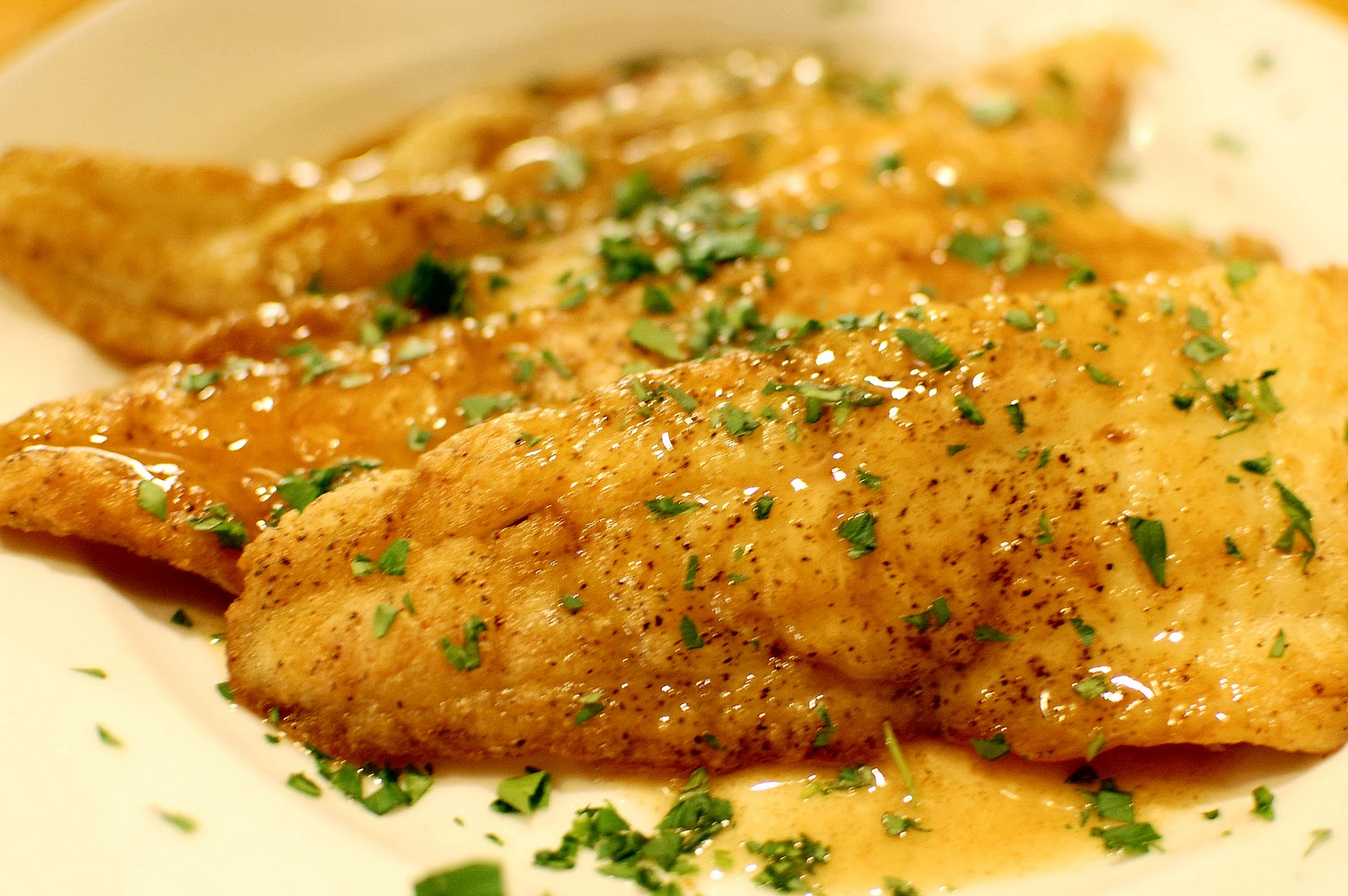 Flounder Meunière | We Like to Cook!