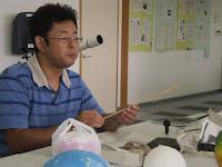 講師の高橋さん、講義中