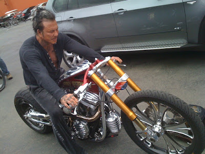 Roland And Mickey Rourke Blog Motorcycle Parts And