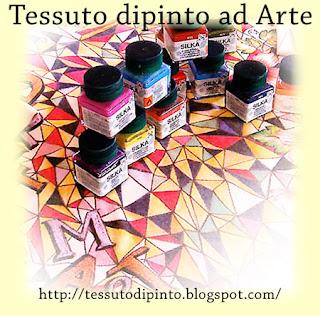 Colori a solvente marca Talens per dipingere il tessuto