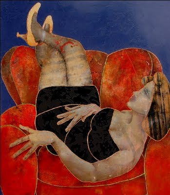 Giovanni Maranghi 1955 | Italian Mixed media painter