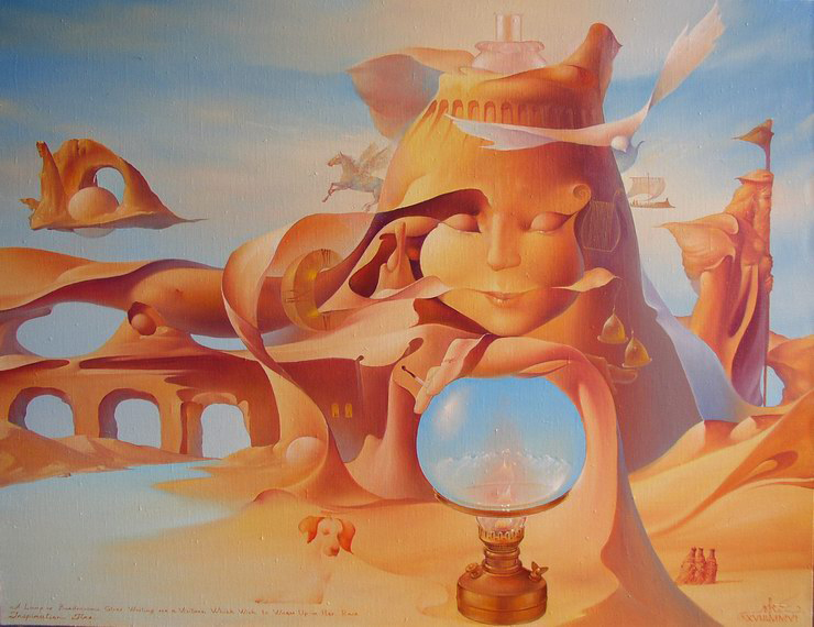 Valeriy Kot 1958 | Ukraina | Surrealist painter