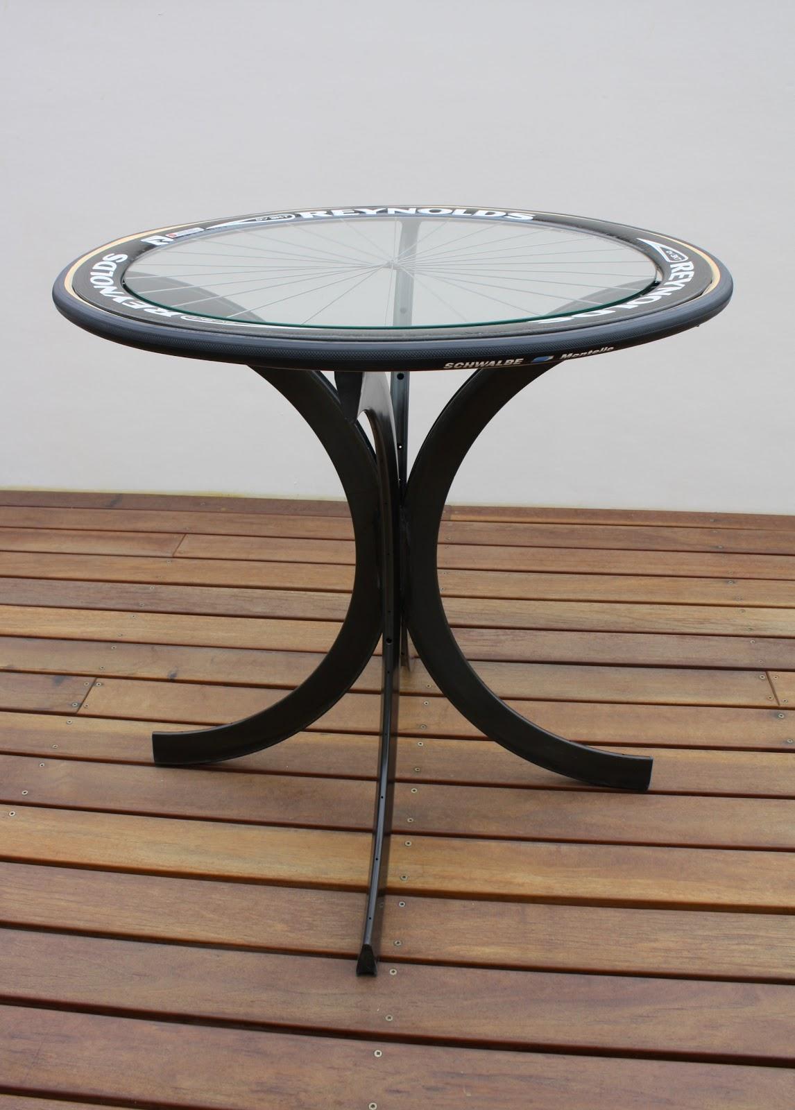 Carbon Footprint Design: Carbon fiber DV rim coffee table 807