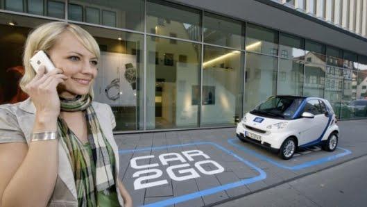 Symblogogy: City Car Sharing Program, car2go, Pilots In