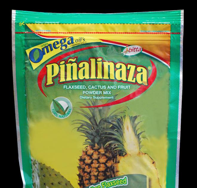 Pina con linaza para adelgazar