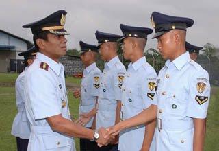 internet Penerimaan Calon Bintara Prajurit Karier TNI AD wilayah Kodam I/BB Tahun 2010