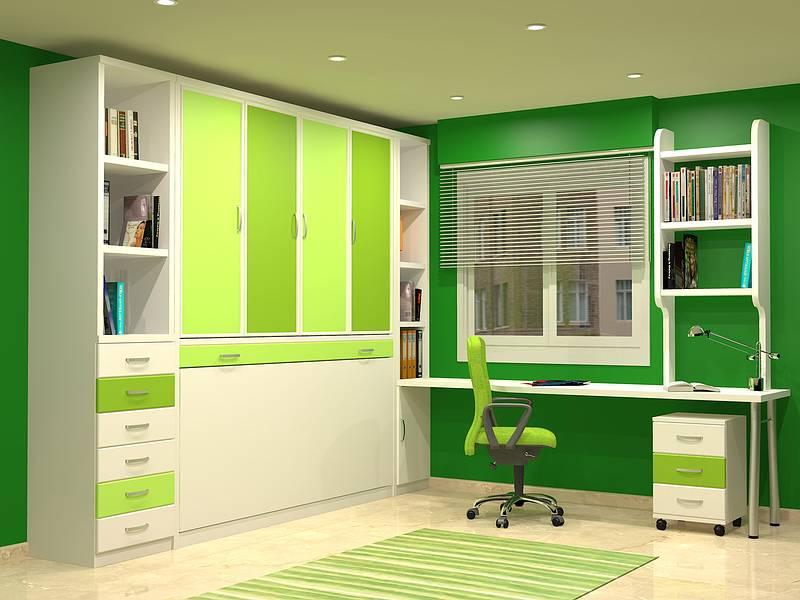 Cama abatible horizontal disponible en 80 y 90 y largo 180 - Camas muebles plegables ...