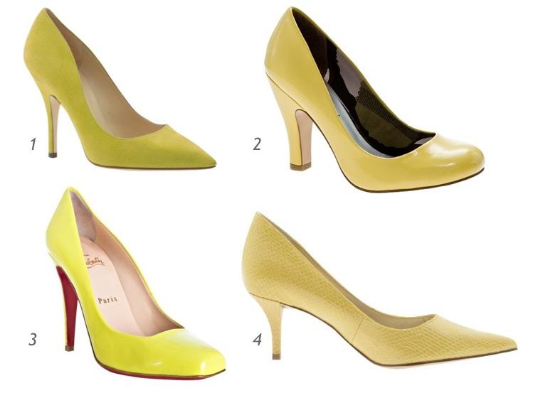 Yellow Heels Dsw Images