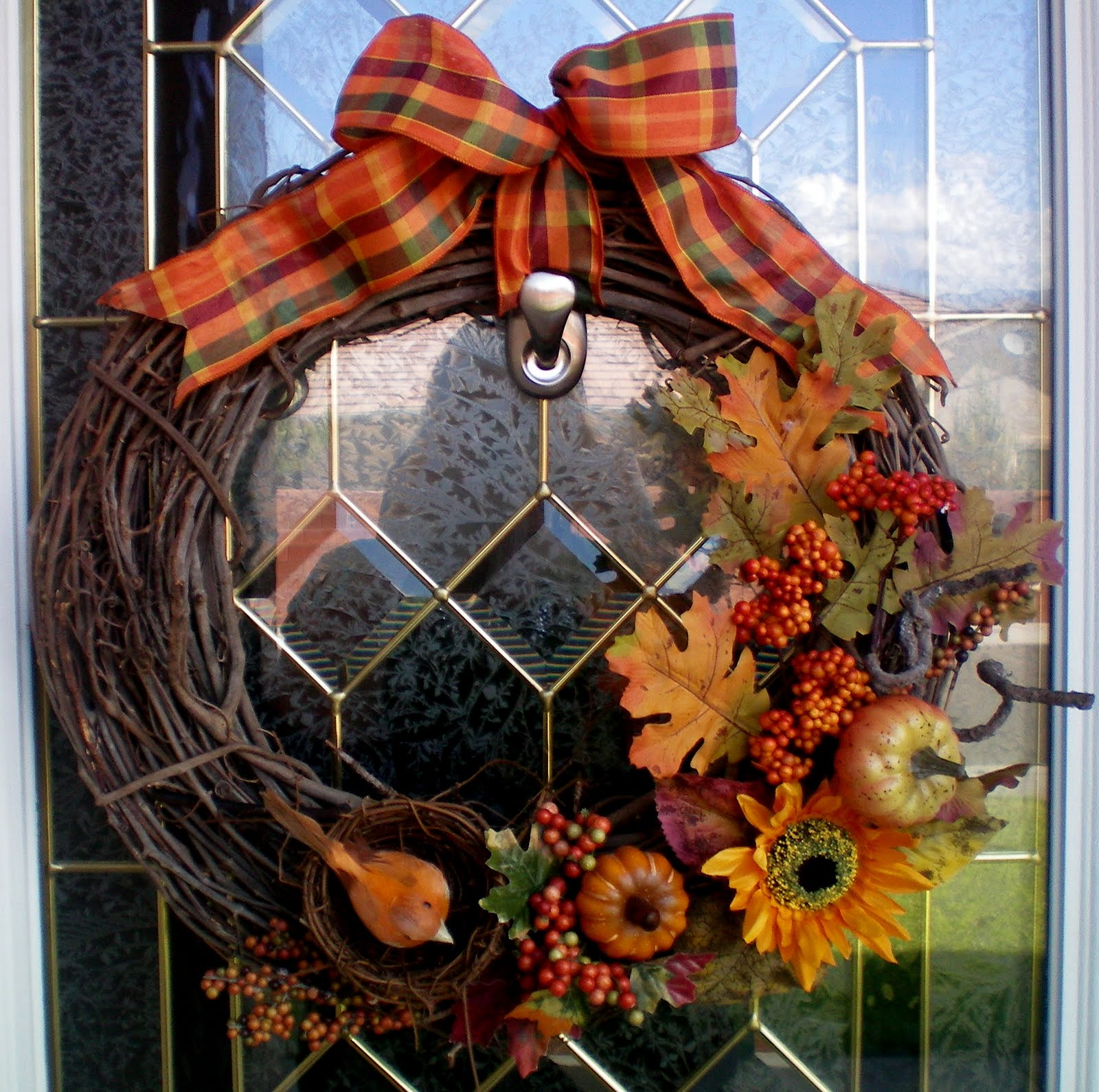 DIY~ FALL WREATH! - Craft-O-Maniac
