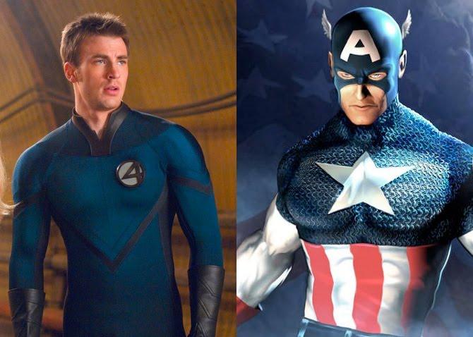 Artastic Avenjer: Chris Evans/Captain America...