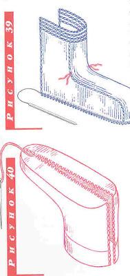 носки на спицах