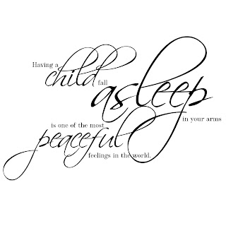 Elegant WordArt 2: Peaceful Sleeping Child