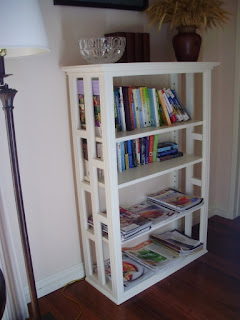 Built With A Shopsmith Open Sided Bookcases