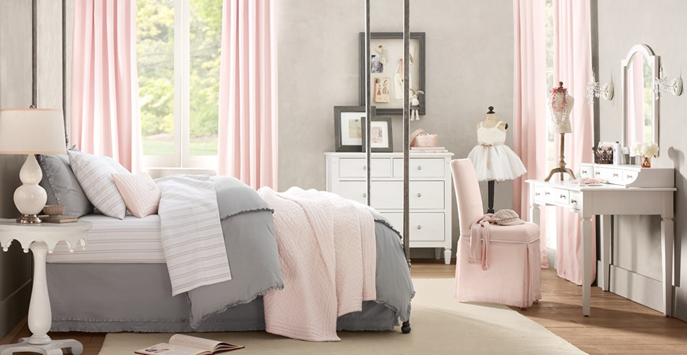 daly designs grey and pink. Black Bedroom Furniture Sets. Home Design Ideas