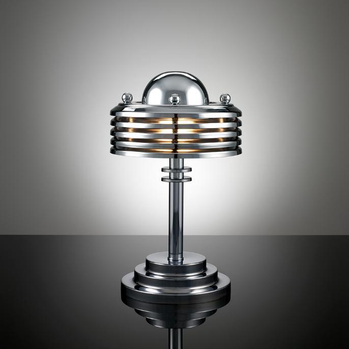 lilybug designs art deco lamp. Black Bedroom Furniture Sets. Home Design Ideas