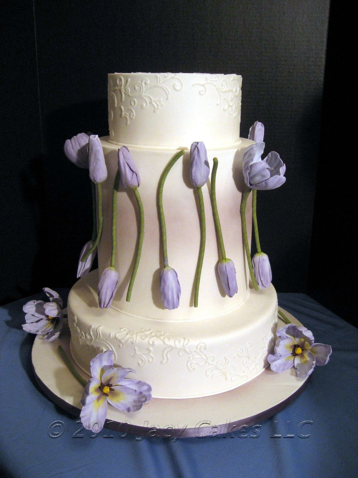 News From Jacy Cakes Tulip Wedding Cake