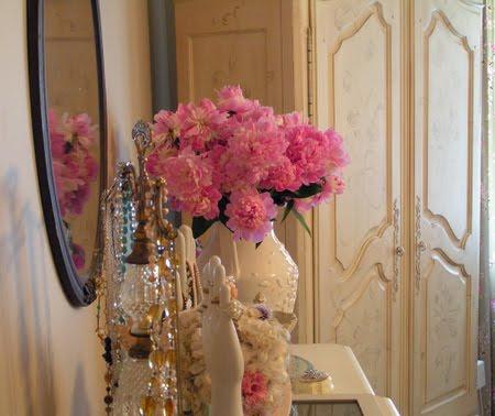 decoração com flores