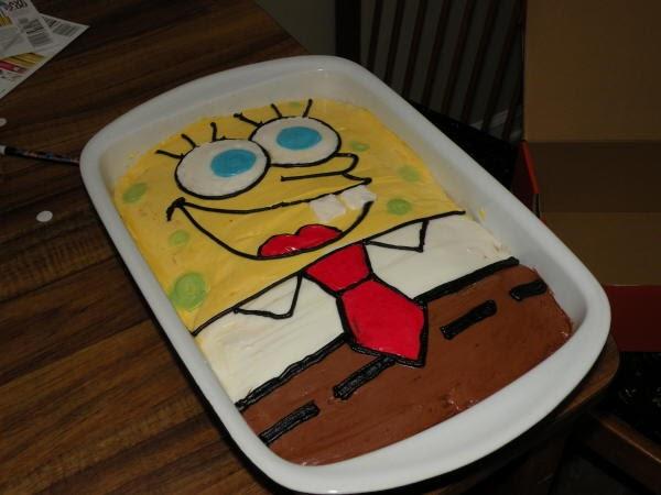 Spongebob Cake Wilton Pan