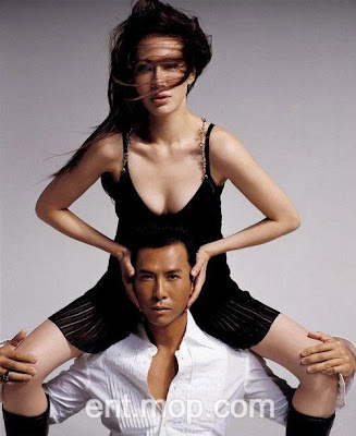 Lively Destiny: Pictures of Donnie Yen and his wife-甄子丹與老婆性感寫真