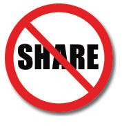 Guest Blog: To Share or Not to Share…