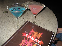 Martinis at The Abbey