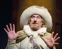 Actor John Pribyl in Cyrano