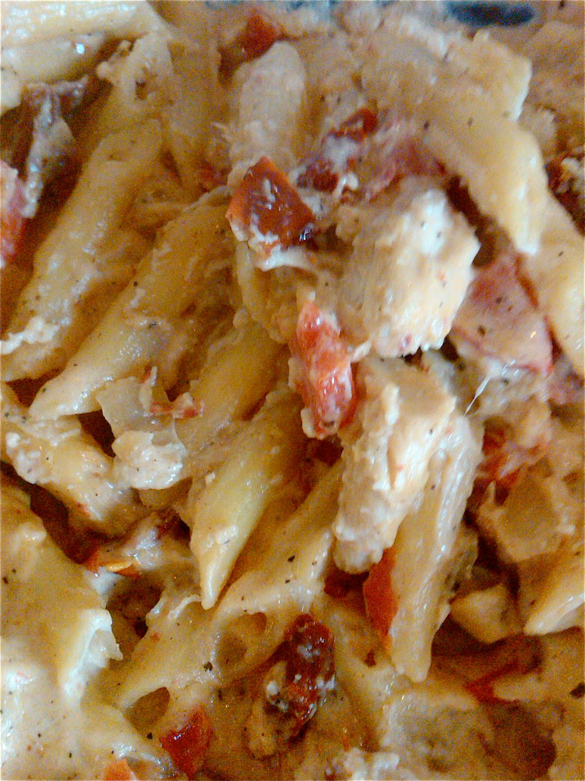 Bs Recipes Candy Corn M M Blondies: BS Recipes: Red Baked Penne With Chicken