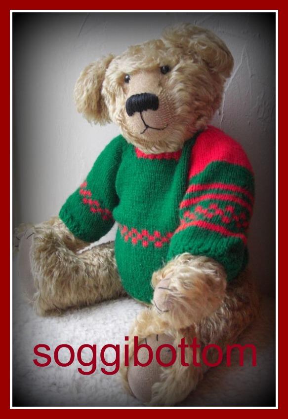 Soggibottom Free Teddy Bear Sweater Pattern From