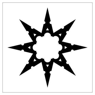 tattoovorlagen tribal sterne motive bilder tattoo vorlagen. Black Bedroom Furniture Sets. Home Design Ideas