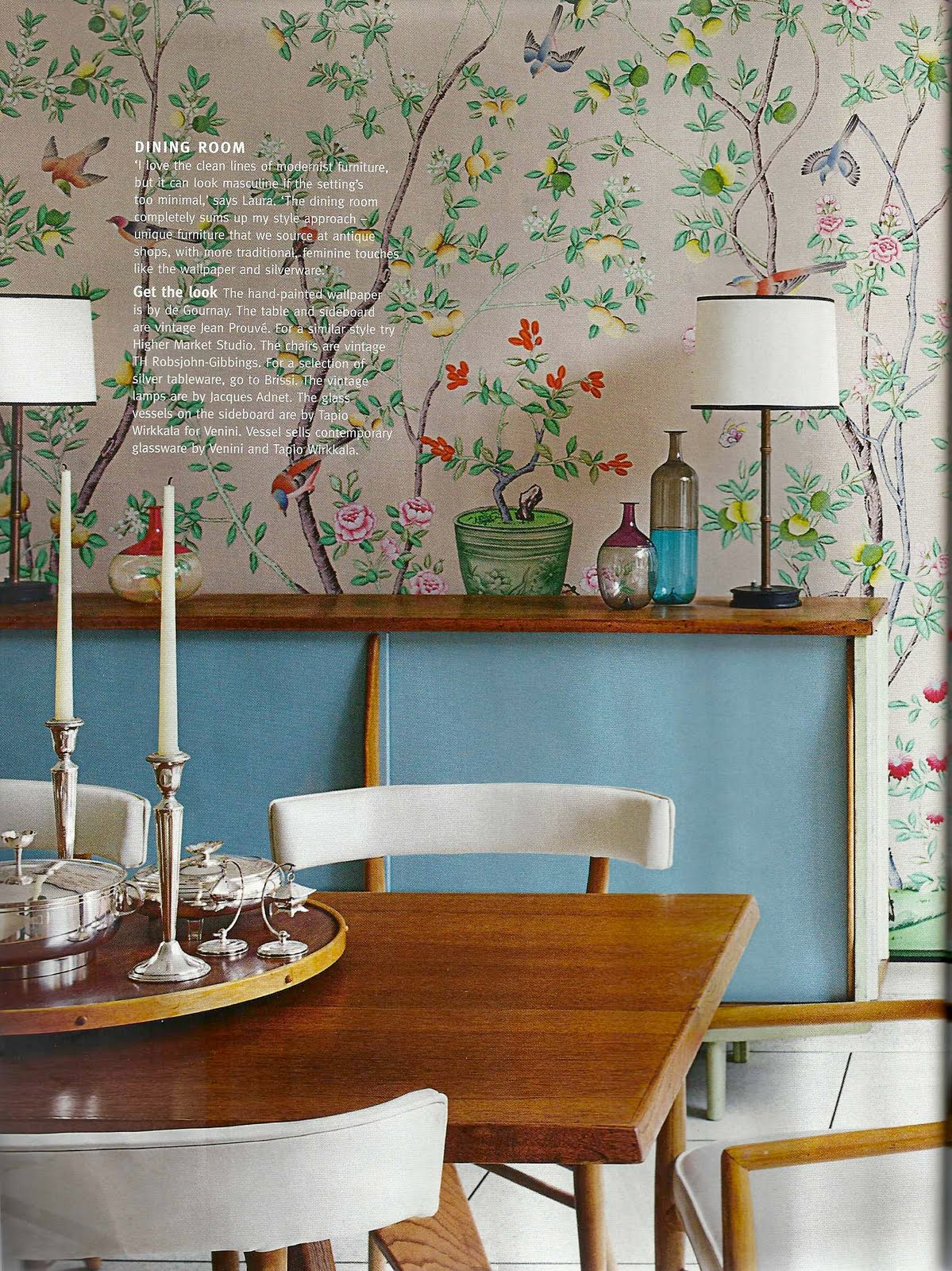 Magazine Review Living Etc June 2010 Bright Bazaar By