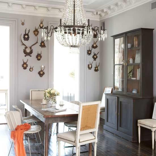 30 Incredible Eclectic Dining Designs: Bright.Bazaar: {Chandeliers}