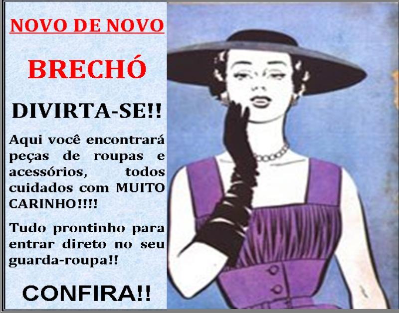 b4e7cd36709 Novo de Novo Brechó Virtual
