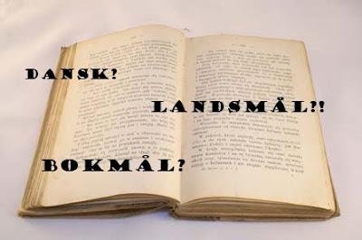 Språkhistorie 1800-tallet - vildendene