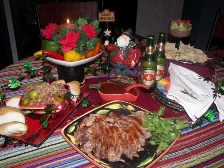 Mexico Christmas Dinner.Aprovecho Mexican American Border Cooking Christmas Dinner Texas