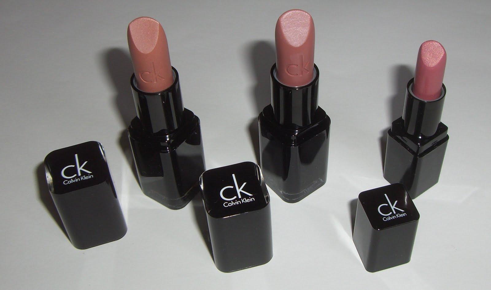 Storbritannien riktigt bekvämt Storbritannien butik Schni's Beauty Blog: Calvin Klein: Lipstick