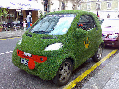 15 Cool Grass Covered Cars (16) 5